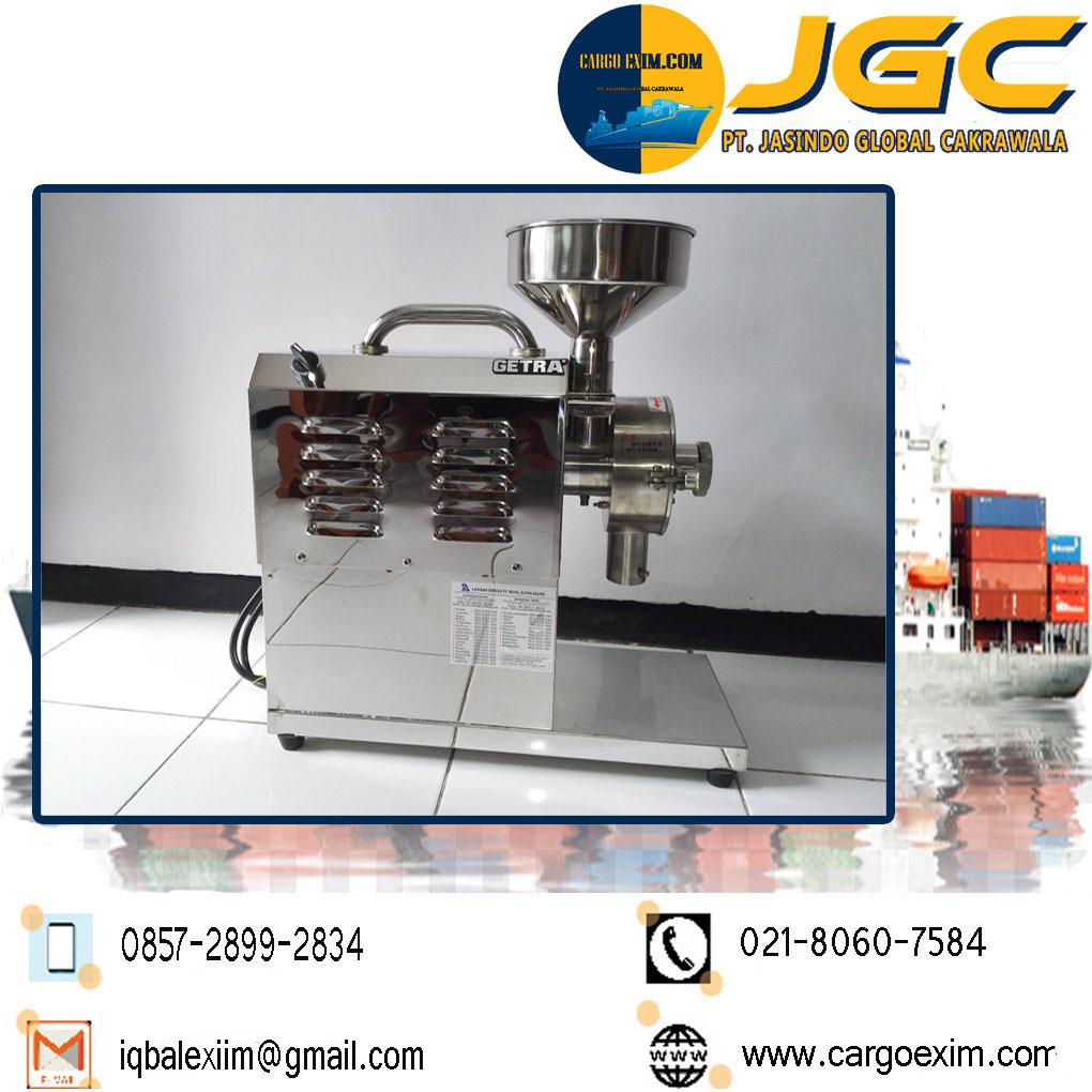 Cargo Exim bergerak di bidang Jasa Import Resmi Mesin Giling Tepung International untuk kepengurusan Import Mesin Giling kepada Bea Cukai wa 0857-2899-2834