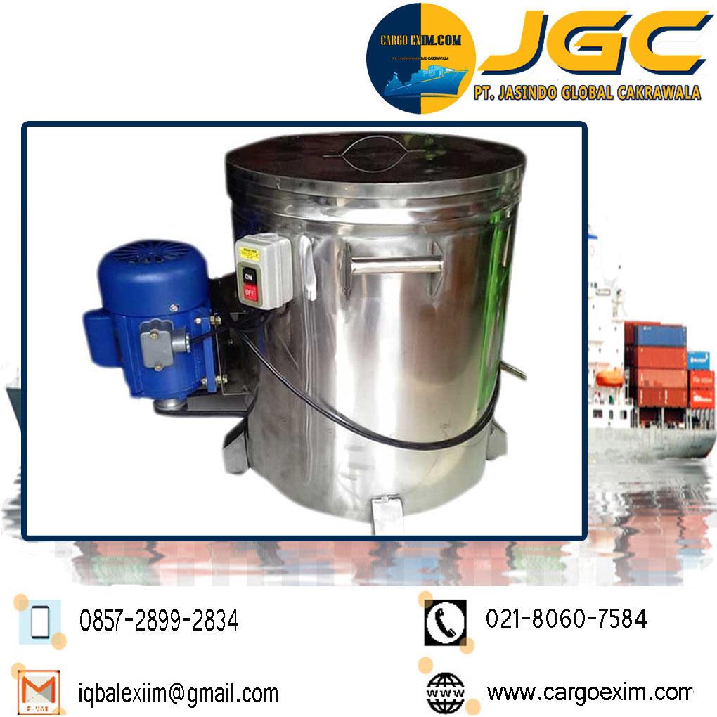 Cargo Exim bergerak di bidang Jasa Import Resmi Mesin Peniris Minyak International untuk kepengurusan Import Mesin kepada Bea Cukai wa 0857-2899-2834