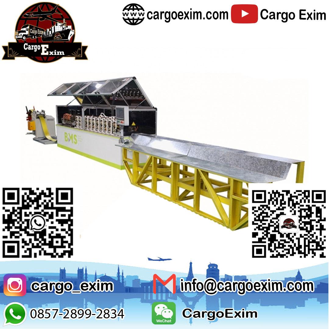 Jasa Import Borongan Mesin Roll Forming Untuk Kepengurusan Kepabeanan Import Borongan Mesin Roll Forming Kepada Beacukai wa. 0857-2899-2834