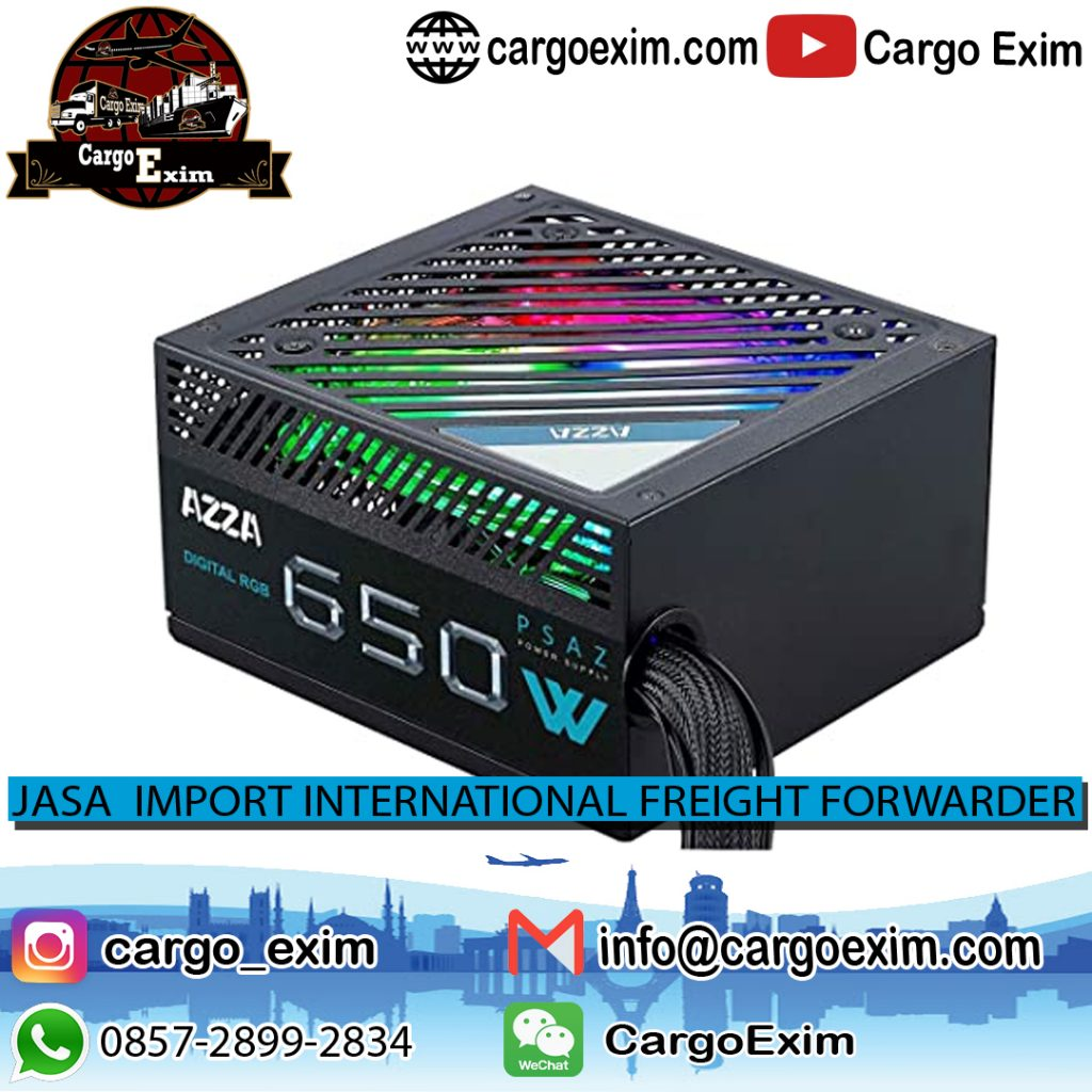 Jasa Import Resmi Power Supply Dari China | JGC Cargo | 085728992834
