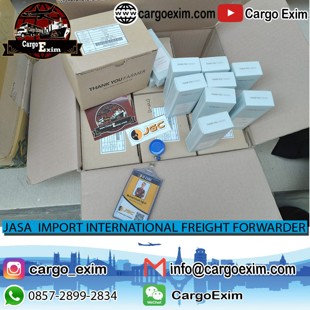 JASA IMPORT KOSMETIK THANK YOU FARMER | CARGO EXIM